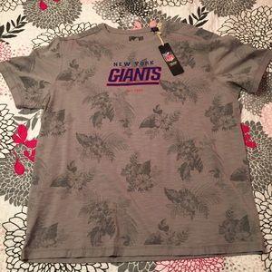 Tommy Bahama Shirts - NWT Tommy Bahama NFL Floral Blitz Tee NY Giants
